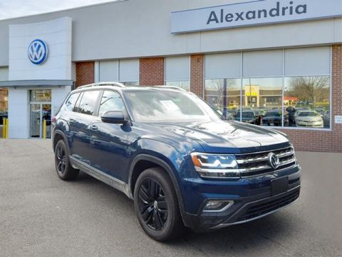 New 2018 Volkswagen Atlas 3.6 SEL