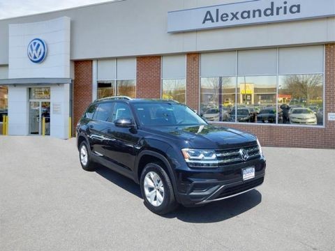 New 2018 Volkswagen Atlas S with 4MOTION®