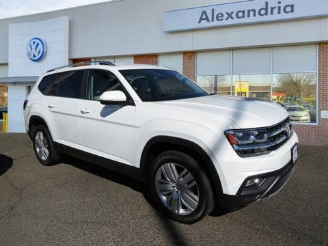 New 2019 Volkswagen Atlas V6 SE with Technology and 4MOTION®